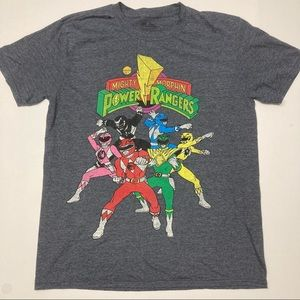 Mighty Morphing Power Rangers T-shirt - Size Large